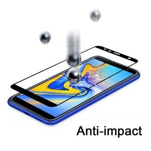 Image 3 - Verre trempé pour Samsung Galaxy J6 2018 sm j600f/ds verre pour Samsung j6 + J6 plus 2018 sm j610fn verre de protection j 6 Film 9h