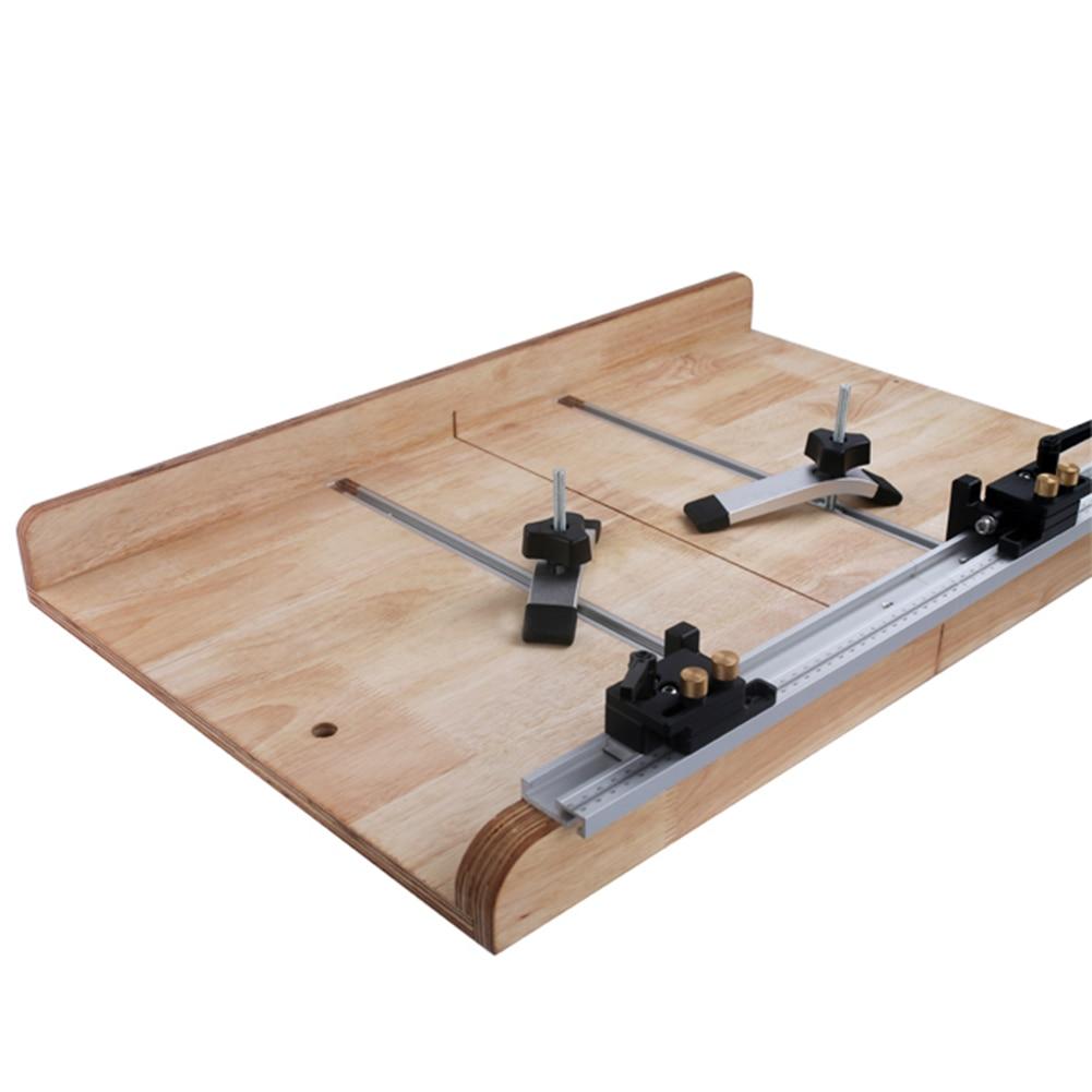 Particial 880mm Rail Miter Bar Slider Table Saw Gauge Rod Miter Gauge Woodworking Tool