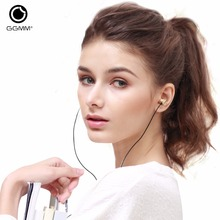 Wholesale GGMM Metal Earphone Headset In-Ear Earphone Bass Noise Canceling Stereo Sound Earphones With Microphone DJ MP3 Player Headsets