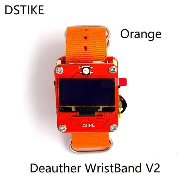 DSTIKE Deauther Wristband V2 smart watch ESP8266 Arduino