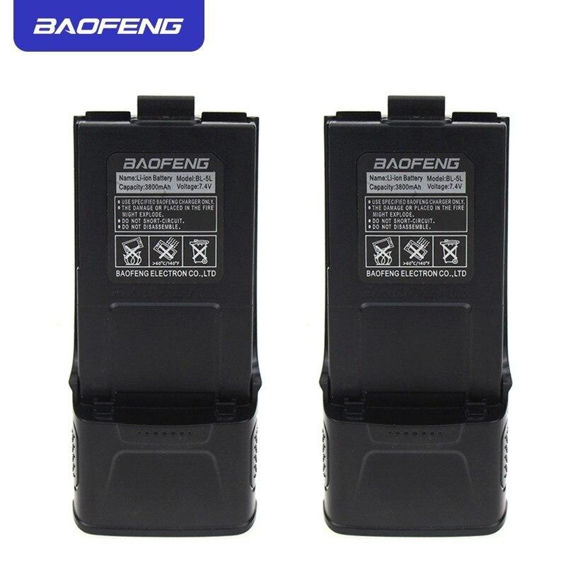 Baofeng BL-5L 7.4V 3800mAh Li-ion Battery For UV-5R Plus F8 TP Two-way Radio US