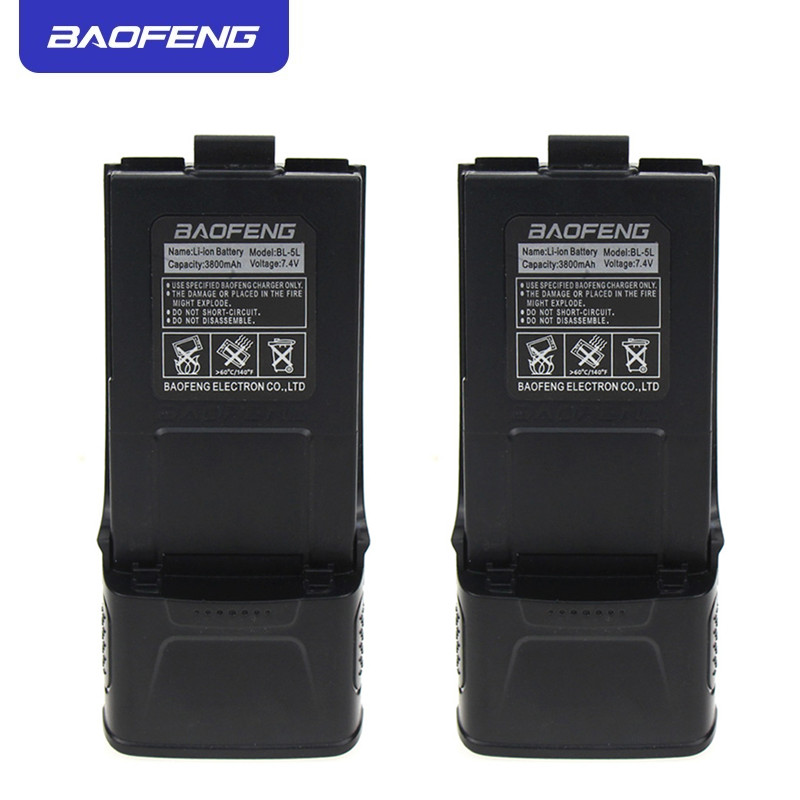 Original Baofeng GT3 Battery Extended 7.4V 3800mAh Li-ion Battery For Baofeng GT-3 GT-3TP GT3 GT3TP &GT-3 Mark-II Mark-III Radio