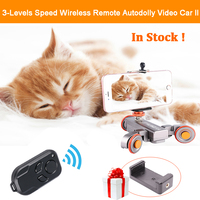 Ulanzi Flexible Motorized Wireless Remote Electric Dolly Car 3 Wheel Pulley Autodolly Pro For DSLR Camcorder