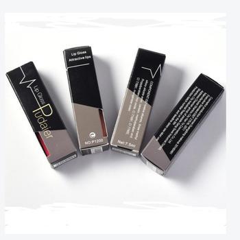 Hot Sales Waterproof Nude Matte Velvet Glossy Lip Gloss Lipstick Lip Balm Sexy Red Lip Tint 21 Colors Women Fashion Makeup Gift
