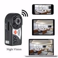 Новое прибытие Мини Q7 Камера 720 P Wi-Fi DV DVR Беспроводной IP Cam новые видеокамеры рекордер инфракрасного ночного видения Малый Камера