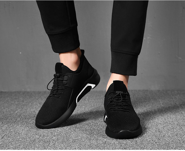 HTB1E50MKyrpK1RjSZFhq6xSdXXas merkmak Brand 2019 New Breathable Comfortable Mesh Men Shoes Casual Lightweight Walking Male Sneakers Fashion Lace Up Footwear