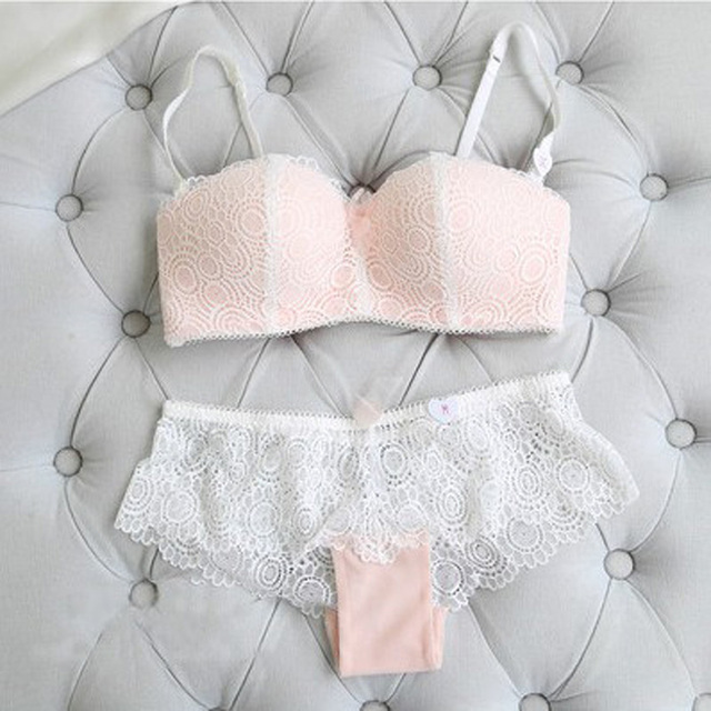 Sexy Push Up Bra Panties Underwear Lingerie Set