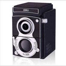 0668 гастроном винтажные Камера точилка для карандашей тень Регулируемая Толщина рука рулон Точилки механический карандаш точилка