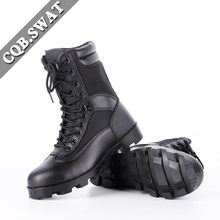CQB. SWAT Militaire Knappe Ademend Tactische Mens Laarzen Leger licht Wearable Combat Zwarte Rits Boot ZD-030(China)