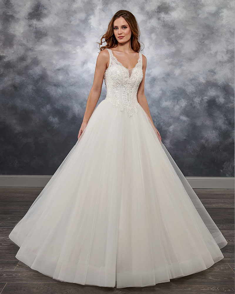 Trouwjurk Fora Do Ombro Princesa Vestido de Casamento com Jacket Apliques Corpete de Luxo Vestido de Noiva Lace Up Voltar Robe de Mariee