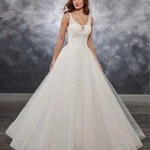 HIRE LNYER Trouwjurk Off Shoulder Wedding Dress with
