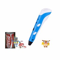 Hot Sale First Generation Magic 3d Printing Pen With 1 75mm 3Color ABS Filament For Kids