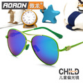 Polarized lens Girls Sunglasses Kids Sunglasses Children sun Glasses for Girls Boys UV400 Child coating Mirror Baby eyewear cool