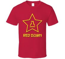 Red Dawn Russian Russia Cult Ussr Movie T Shirt t shirt Fashion Classic Unique Free shipping