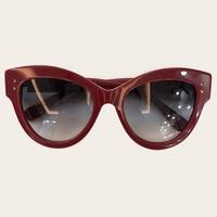 New Vintage Cat Eye Sun Glasses Big Frame Womens Square Sunglasses Women 2019 Fashion Luxury Brand Eyewear Gafas de sol UV400