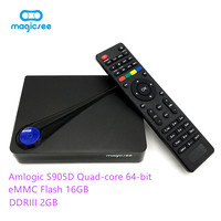 Magicsee Tv Box C300 Android 6 0 4 Kwith Keyboard Amlogic S905D Quad Core 2GB 16GB