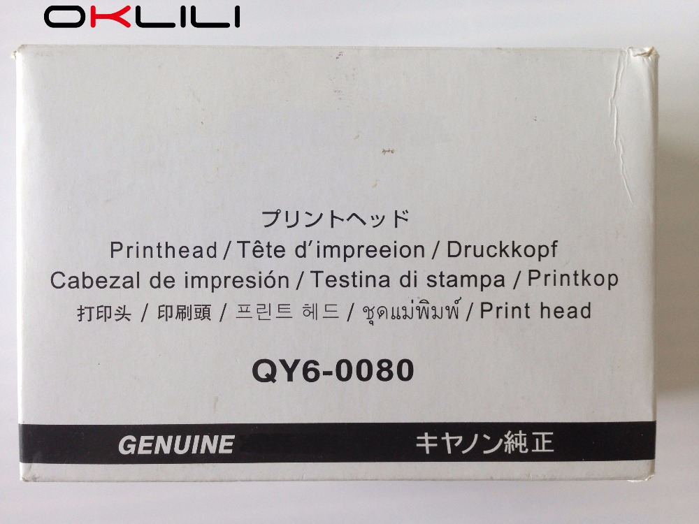Prix pour D'ORIGINE QY6-0080 Tête D'impression Tête D'impression Imprimante pour Canon iP4820 iP4850 iX6520 iX6550 MX715 MX885 MG5220 MG5250 MG5320 MG5350