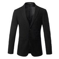 Men Formal Suits Jackets Size S 4XL Business Wedding Mens Suit Coats Autumn Pure Color Blazers Male