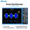 Micsig Intelligente Digitale Oscilloscopio 100 MHz 2CH 4CH palmare oscilloscopio automotive scopemeter oscilloscopio osciloscopio STO1000C
