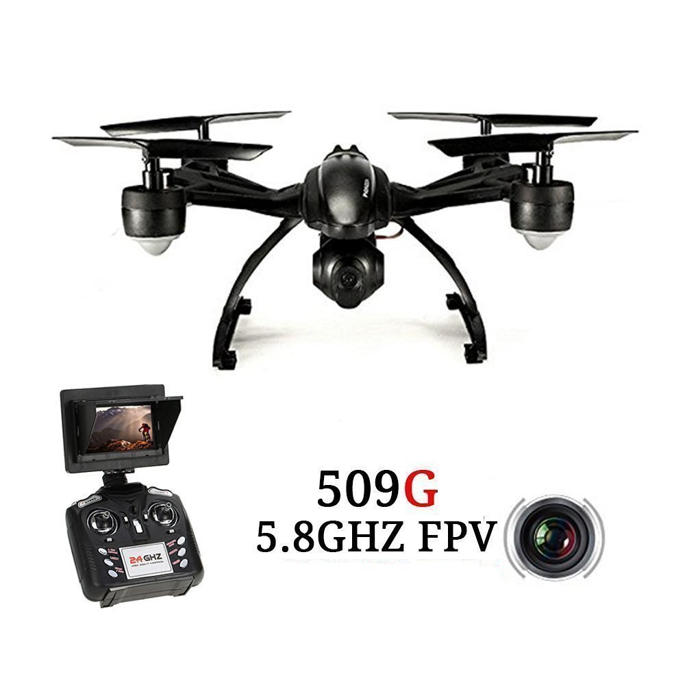 Helicóptero RC JXD 509G 2.4GHz 4CH 5.8G FPV Quadrocopter con cámara - Juguetes con control remoto - foto 1