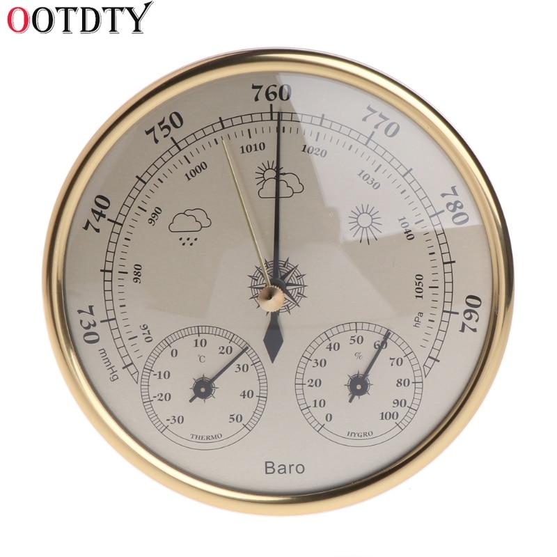 OOTDTY настенный бытовой Барометр термометр гигрометр Погодная станция висит