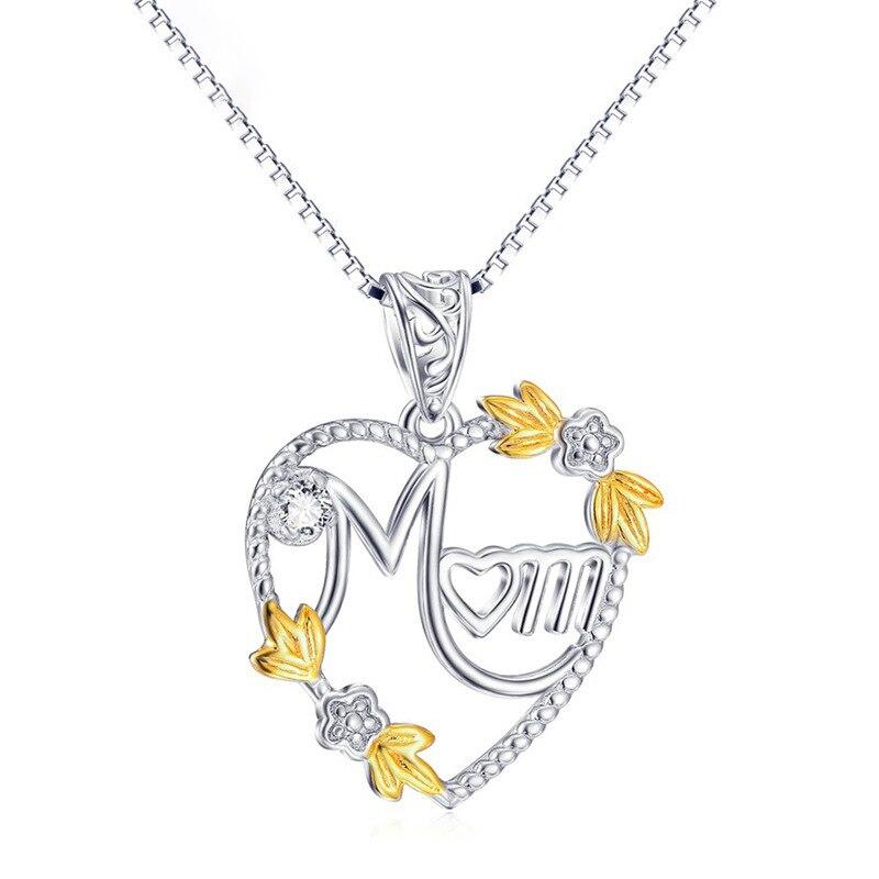 Купить женское длинное ожерелье чокер с подвеской в виде сердца