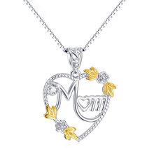 Женское длинное ожерелье чокер с подвеской в виде сердца