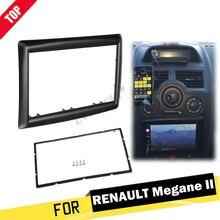 LONGSHI 2 DIN адаптер CD накладка панель стерео интерфейс Радио Автомобильная рамка панель для RENAULT Megane II 2003-2009, 2din
