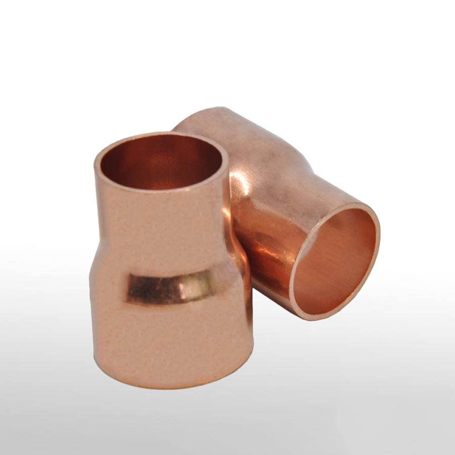 35mm gas copper plumbing pipe//tube end feed coupling