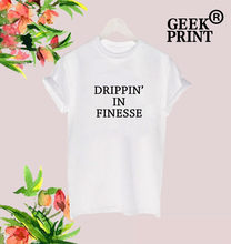 DRIPPIN IN FINESSE 24K MAGIC R B ALBUM WORLD TOUR BRUNO MARS SONG Tops TSHIRT for Women Lady Girl Dropshipping(China)