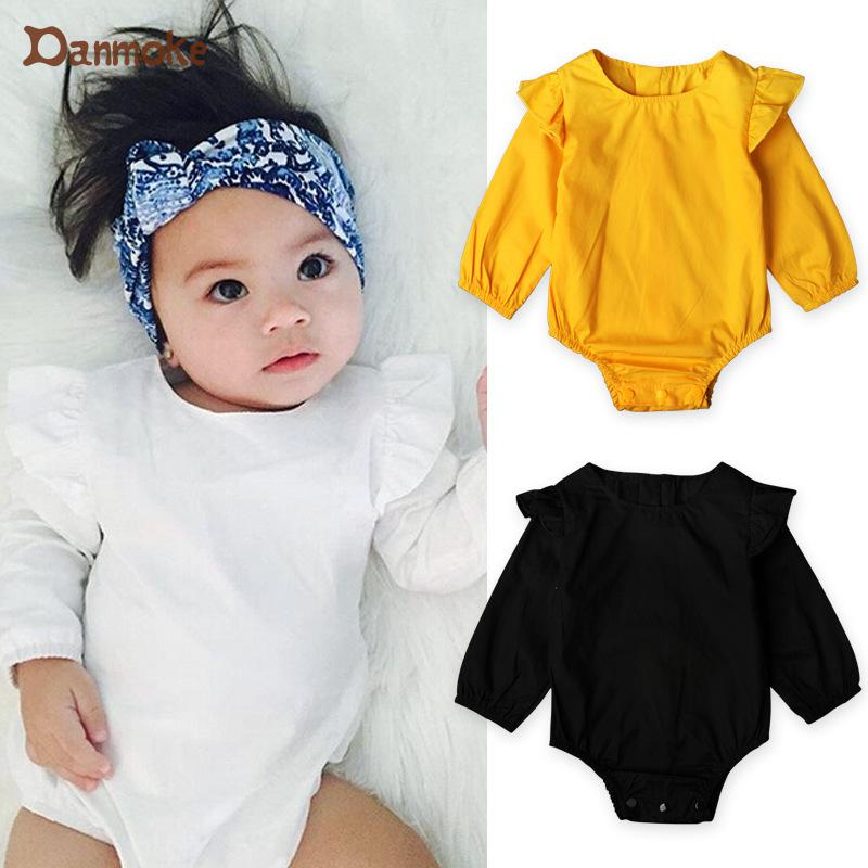 50839ebdee05ff Danmoke Baby Girl Clothes Newborn Spring & Autumn Baby Clothing Baby Born  Suit Long Sleeve Baby Kleding Infant Clothing