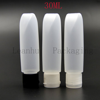 Plastic Packing Cream Tubes With Flip Top Cap,Empty Cosmetics Container,30ML Personal Care Travel Tube Mini Sample Containers