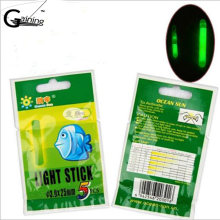 20Pcs/lot Dia 4.5mm L Size Night Fishing Lighting Stick Wand Green chemical glow stick fishing(China)