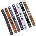 Interchangealbe 22 CM de importados de encaixe pulseiras de couro real para encaixe de gengibre encaixar bt0900-22