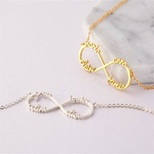 HIYONG Name Necklace Gold Color Stainless Steel Personalized Custom Necklaces for Women Gift Nameplate Pendant Choker Best Gifts hiyong custom crown name necklace personalized silver rose gold chain nameplate choker christmas gift necklaces jewelry