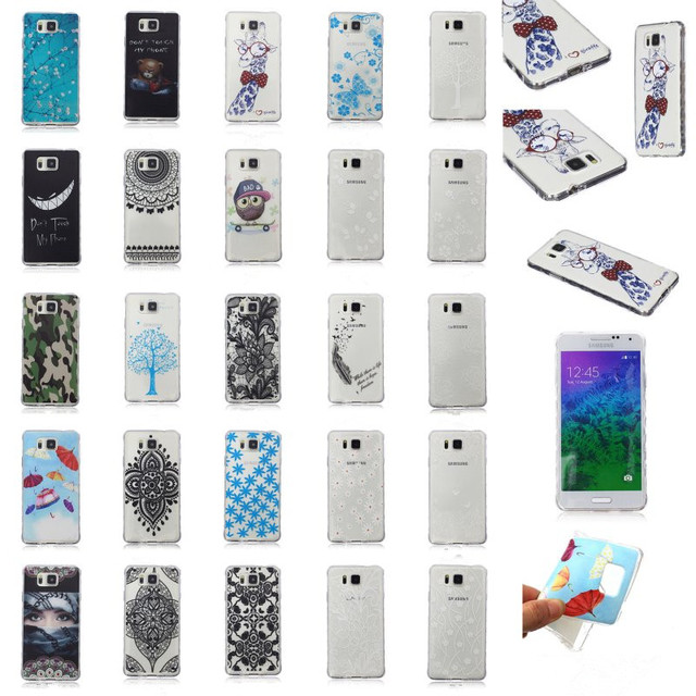 coque galaxy alpha silicone