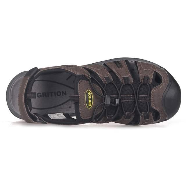 Grition Sandales Décontractées Chaussures Plates Hommes Respirant Plage D'été Marche De D'extérieur Base En odBxCreW