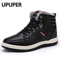 UPUPER Men S Winter Boots Waterproof Winter Warm Ankle Botas Hombre Direct Selling Large Size 45