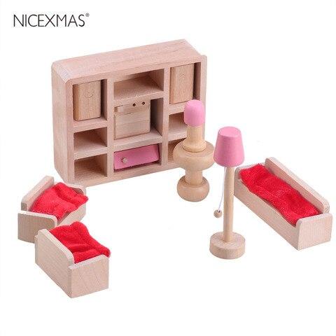 Pk Bazaar Simulated Mini Wood 1 Set Pretend Simulation Mini In