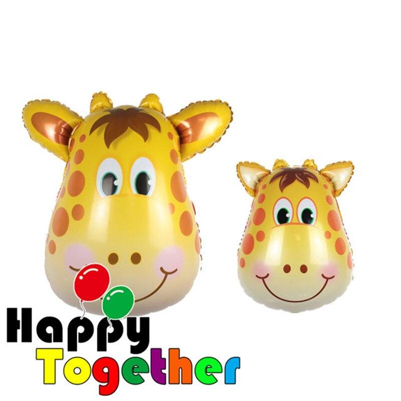 Felices Juntos Giraffe Shape Cara Jungle Safari Zoo Baby Shower
