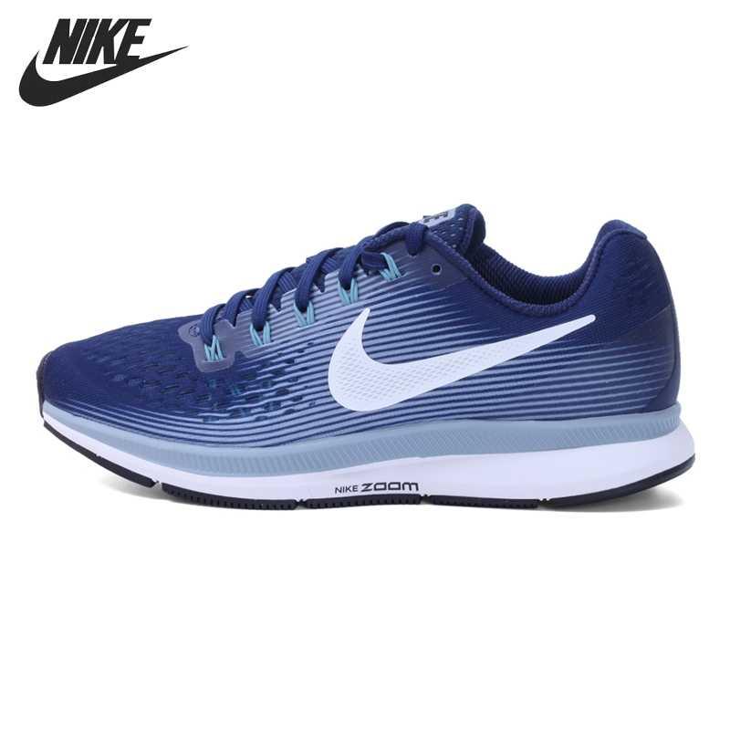 15e1440f Оригинальный Новинка 2017 NIKE AIR ZOOM PEGASUS 34 Для женщин Кроссовки для  бега Спортивная обувь