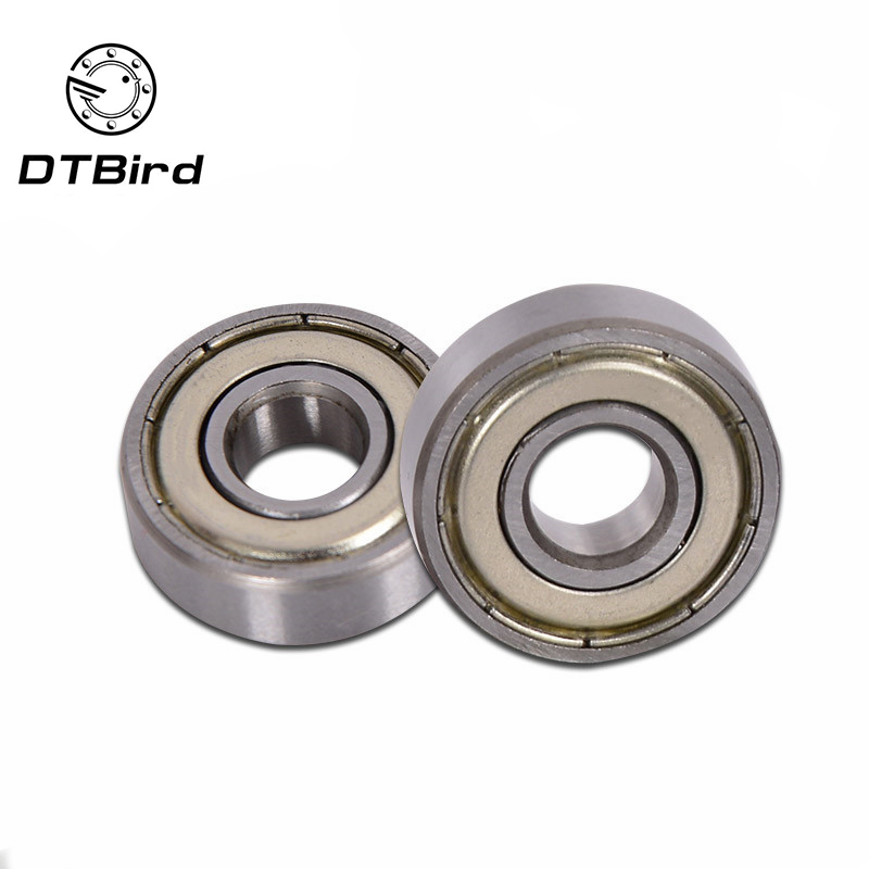 - 606 ZZ Metal Miniature Deep Groove Shielded Ball Bearings 6x17x6 mm 10 PACk