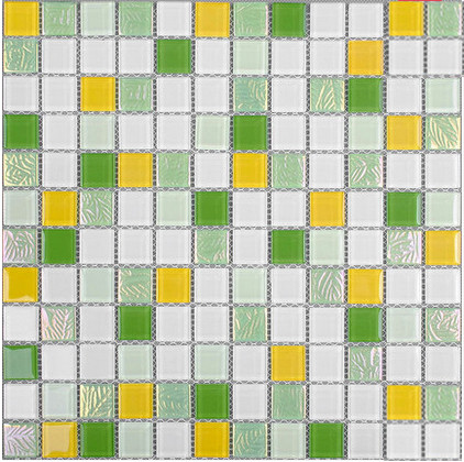 Iridescent glazed Crystal 3D Green Glass Mosaic backsplash pool wall tiles,Bathroom kitchen decor sticker,Free Shipping,LSNSJ10 home improvement marble stone mosaic tiles natural jade style kitchen backsplash art wall floor decor free shipping lsmb101