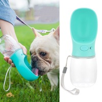 3Pc/lots Portable Dog Water Bottle Travel Puppy Cat Drinking Bowl Outdoor Pet Water Dispenser Feeder for Dogs Cats