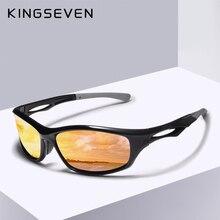 KINGSEVEN Men Driving Sunglasses Polarized Mirror Sun Glasses Classic Night Gogg