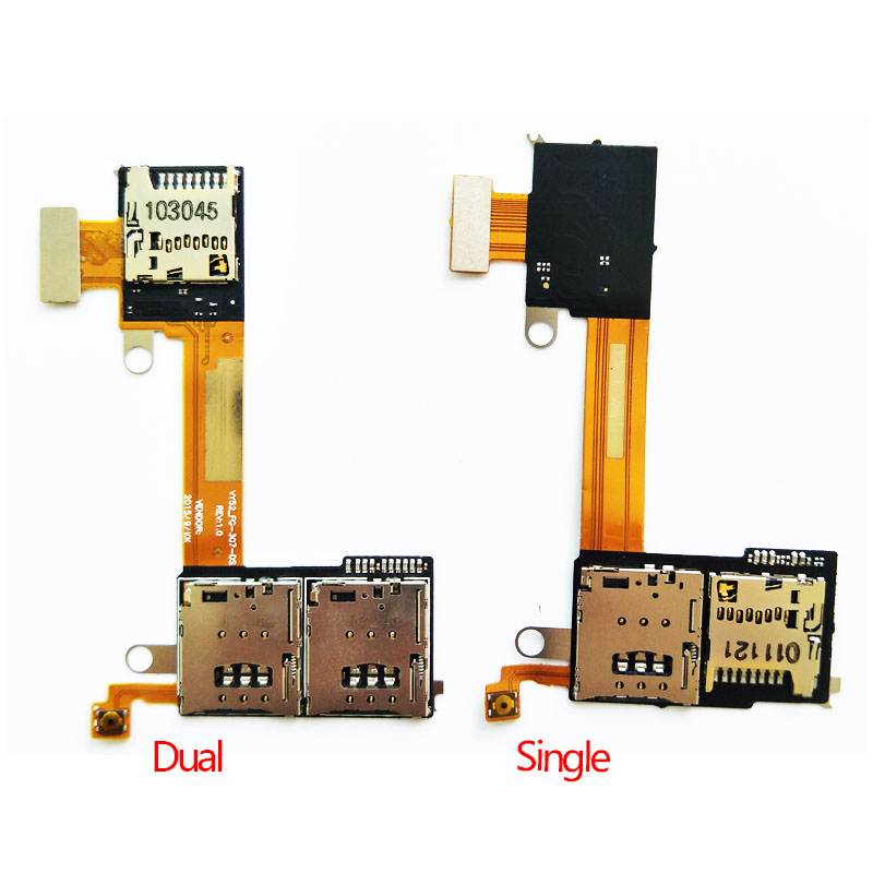 Sim Card Reader Tray Tf Karte Slot Speicher Karte Flex Cable Board