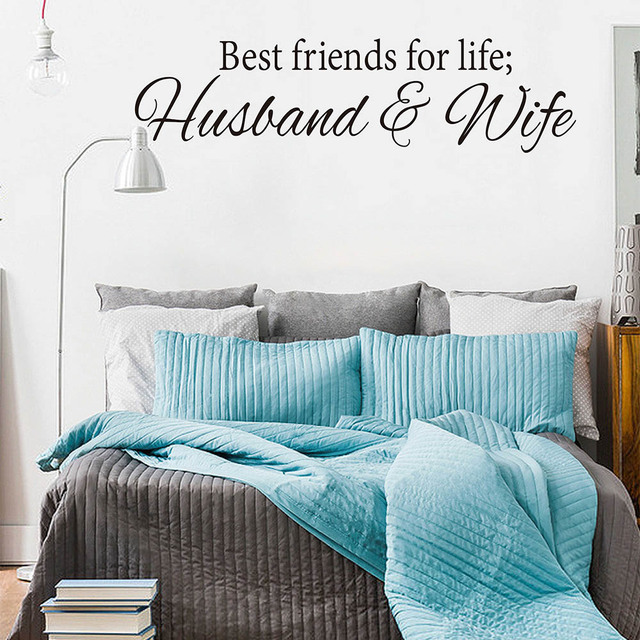 Best Friends For Life Decal Sticker Wall Art Husband And Wife Love