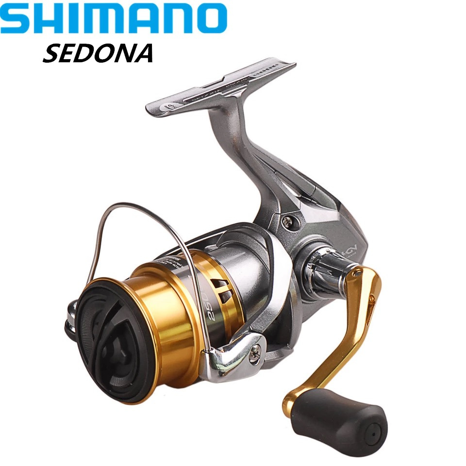 SHIMANO SEDONA C2000S/C2000HGS/2500S/2500HG/C3000HG Spinning Fishing Reel 4BB Carretilha Moulinet Peche Carretes Pesca original shimano bass one xt 150 151 right left baitcasting reel 7 2 1 5bb 5kg svs syetem fishing reel carretilha moulinet peche