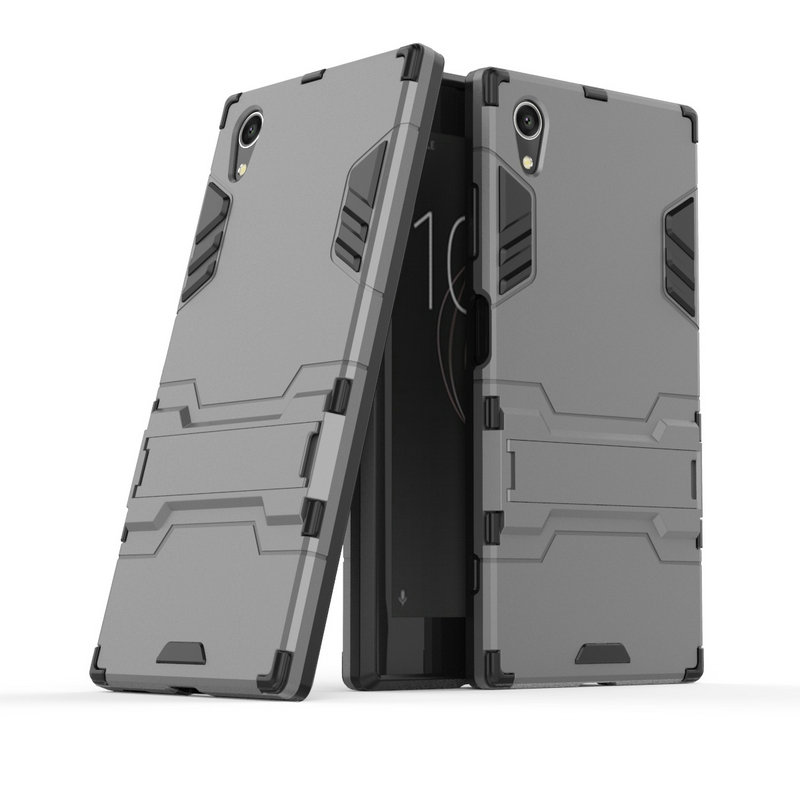 Image 3 - 3D Armor Case for Sony Xperia XA1 Plus Dual G3421 G3423 G3412 for Sony Xperia XZ1 Compact G8441 XA1 XZ1 XZ XZs Phone cover Case-in Half-wrapped Cases from Cellphones & Telecommunications