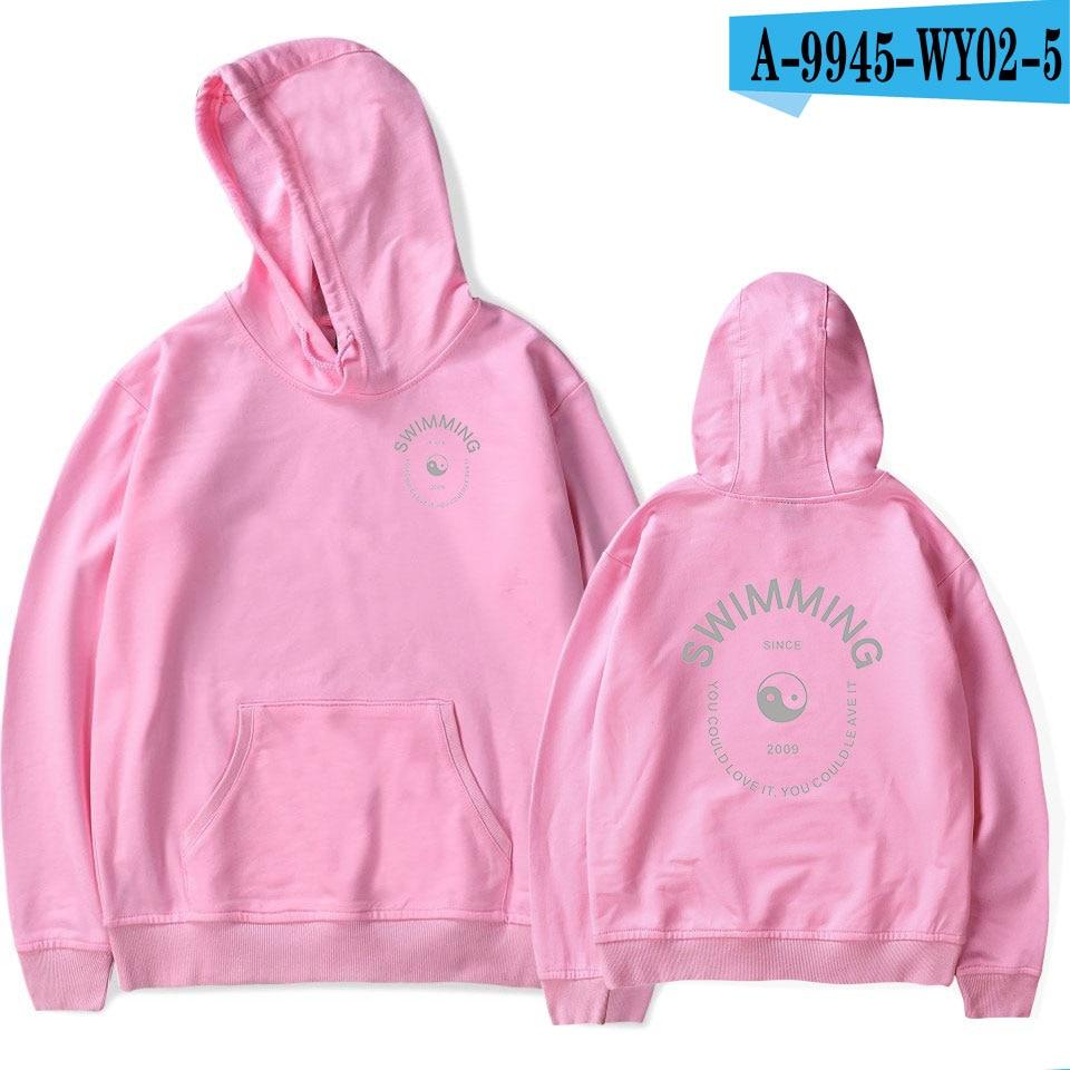 Mac Miller Swimming Pink Hoodie 9